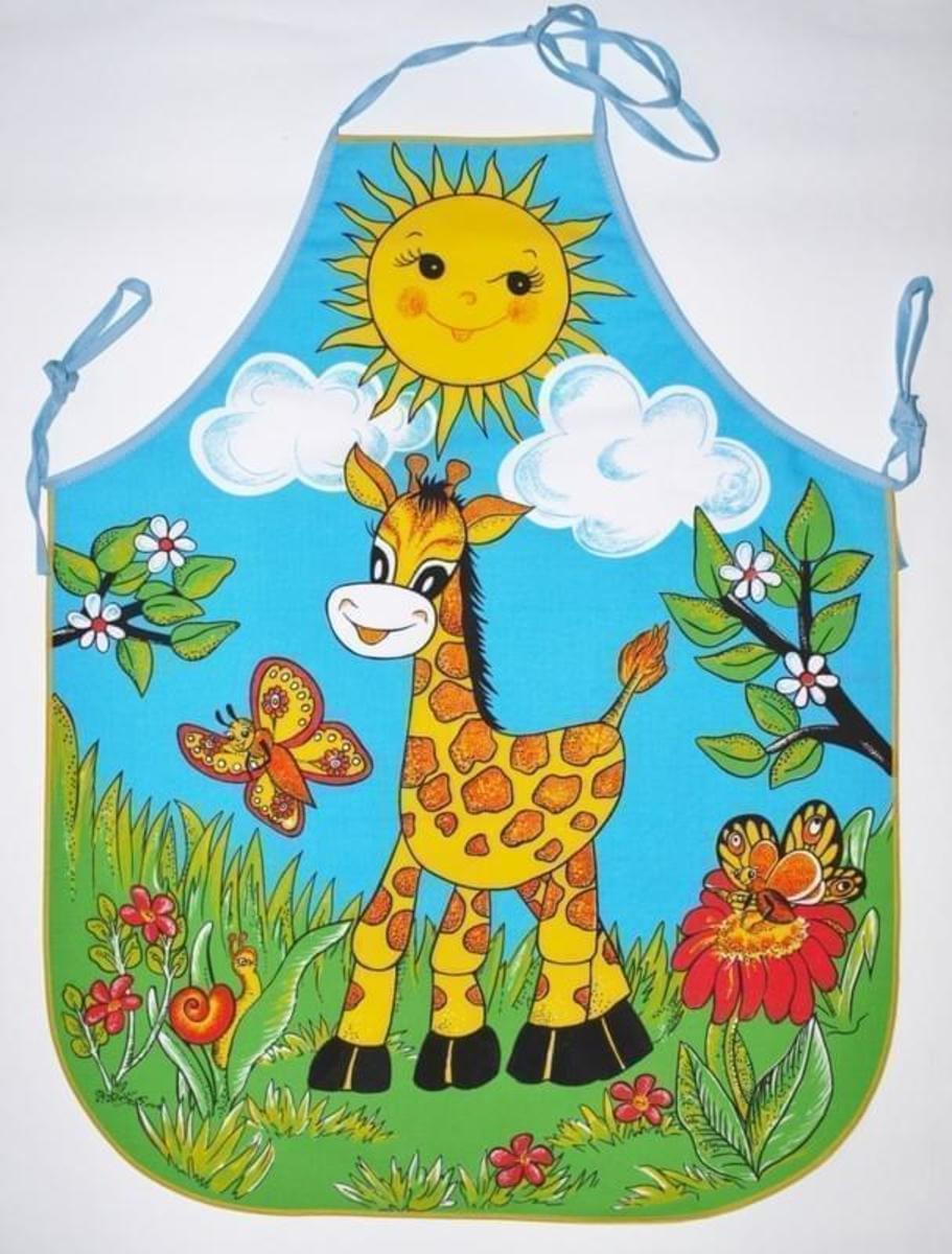 Forbyt Zástěra, Žirafa