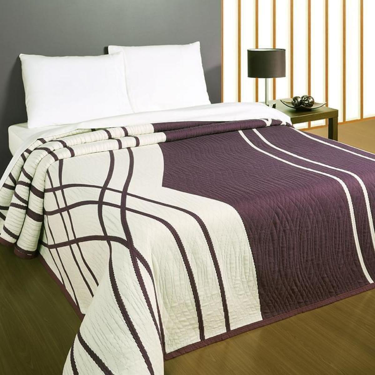 Forbyt Přehoz na postel, Casanova, fialová 140 x 220 cm