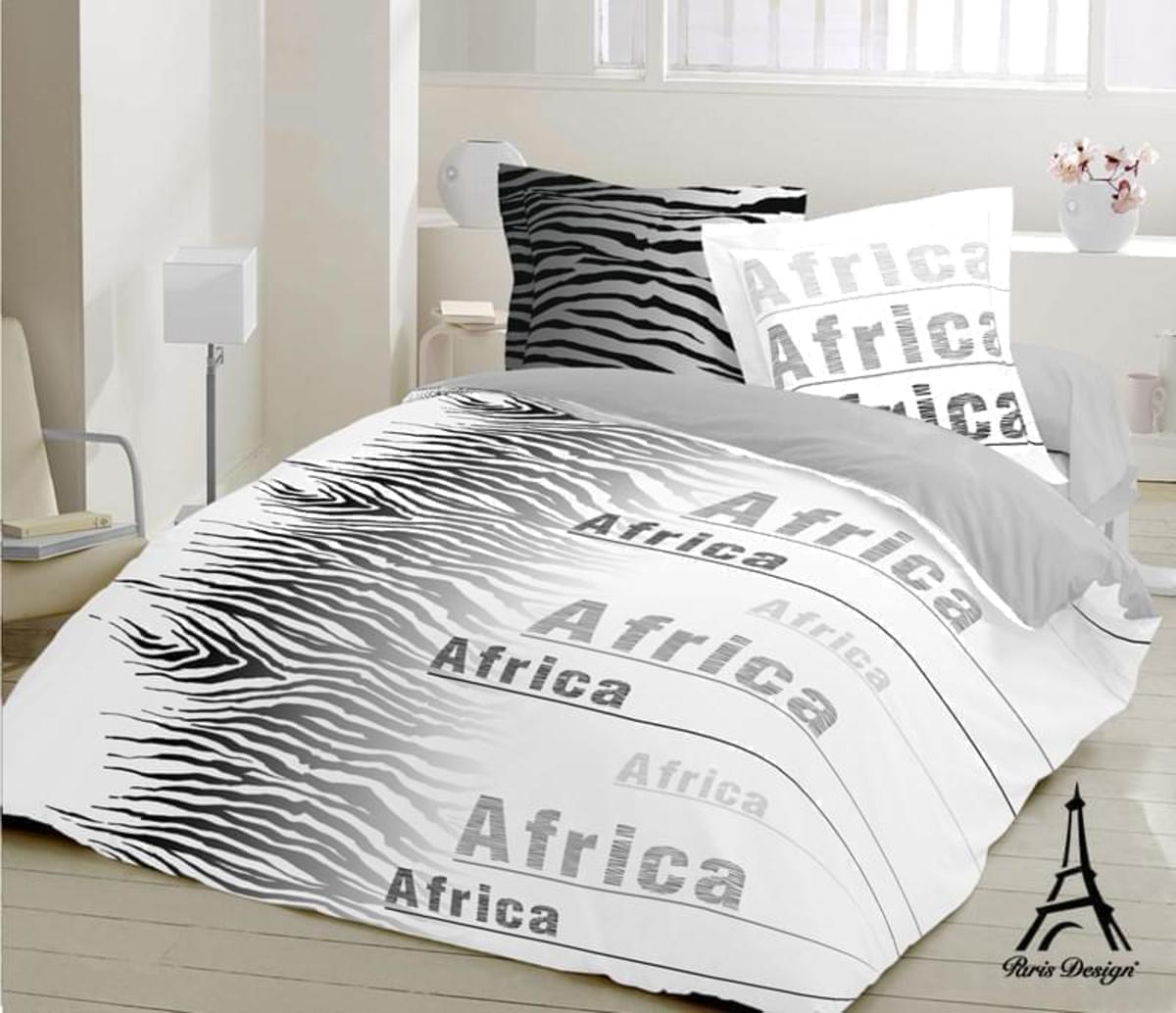 Paris design Povlečení bavlna exklusive Africa 140 x 220 cm + 70 x 90 cm