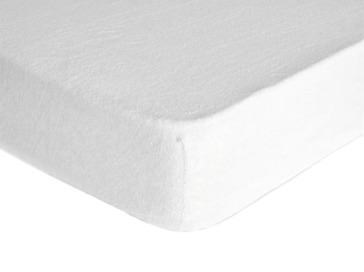 Forbyt, Prostěradlo, Froté Premium, bílé 140 x 200 cm