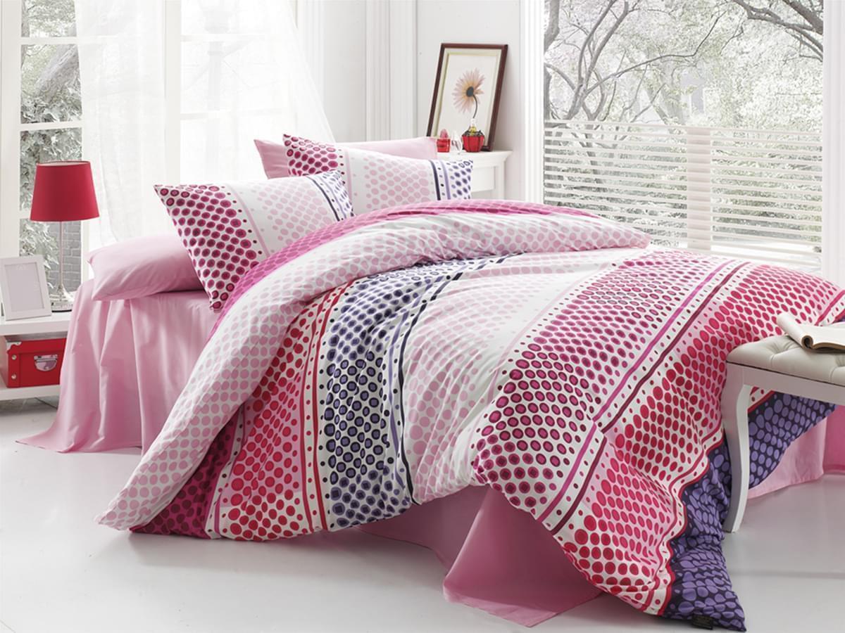 Forbyt, Povlečení, Fashion fialové bavlna exkluziv, 200x140, 90x70 140 x 200 cm + 70 x 90 cm