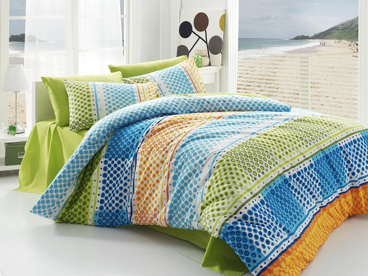 Forbyt, Povlečení, Fashion zelené, bavlna exkluziv, 200x140, 90x70 140 x 200 cm + 70 x 90 cm