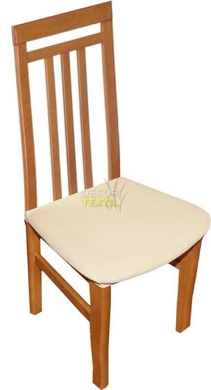 Forbyt Potah elastický na židle sedák, 2 ks, Nautic, smetanový