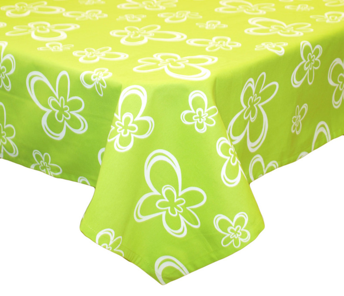 Forbyt, Ubrus, Daisy zelený, 120 x 140 cm