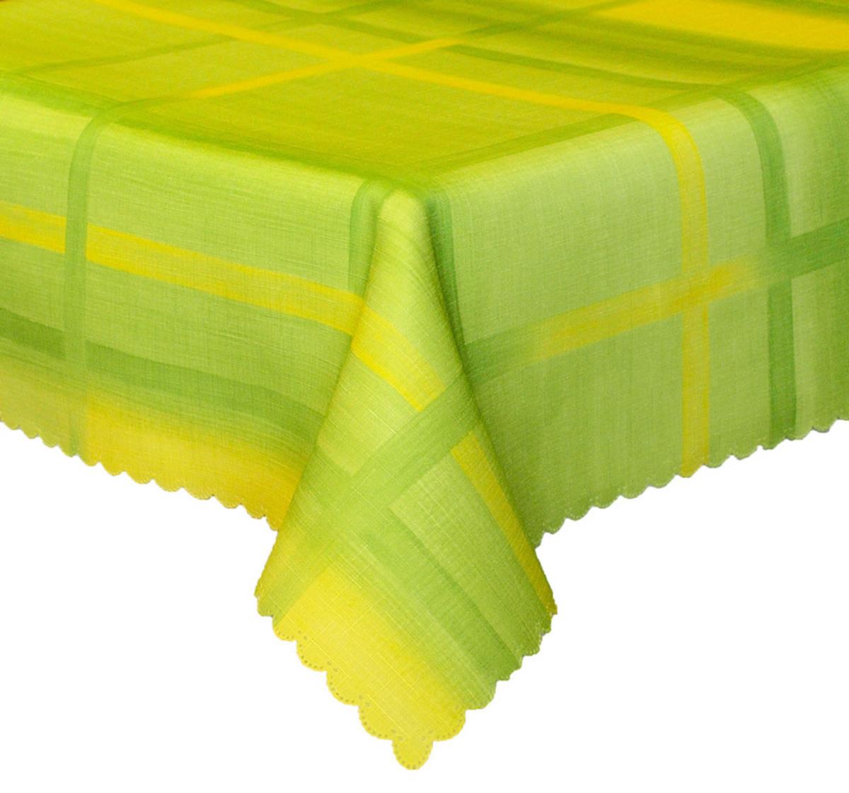 Forbyt, Ubrus s nešpinivou úpravou Mřížka, zelený 50 x 100 cm
