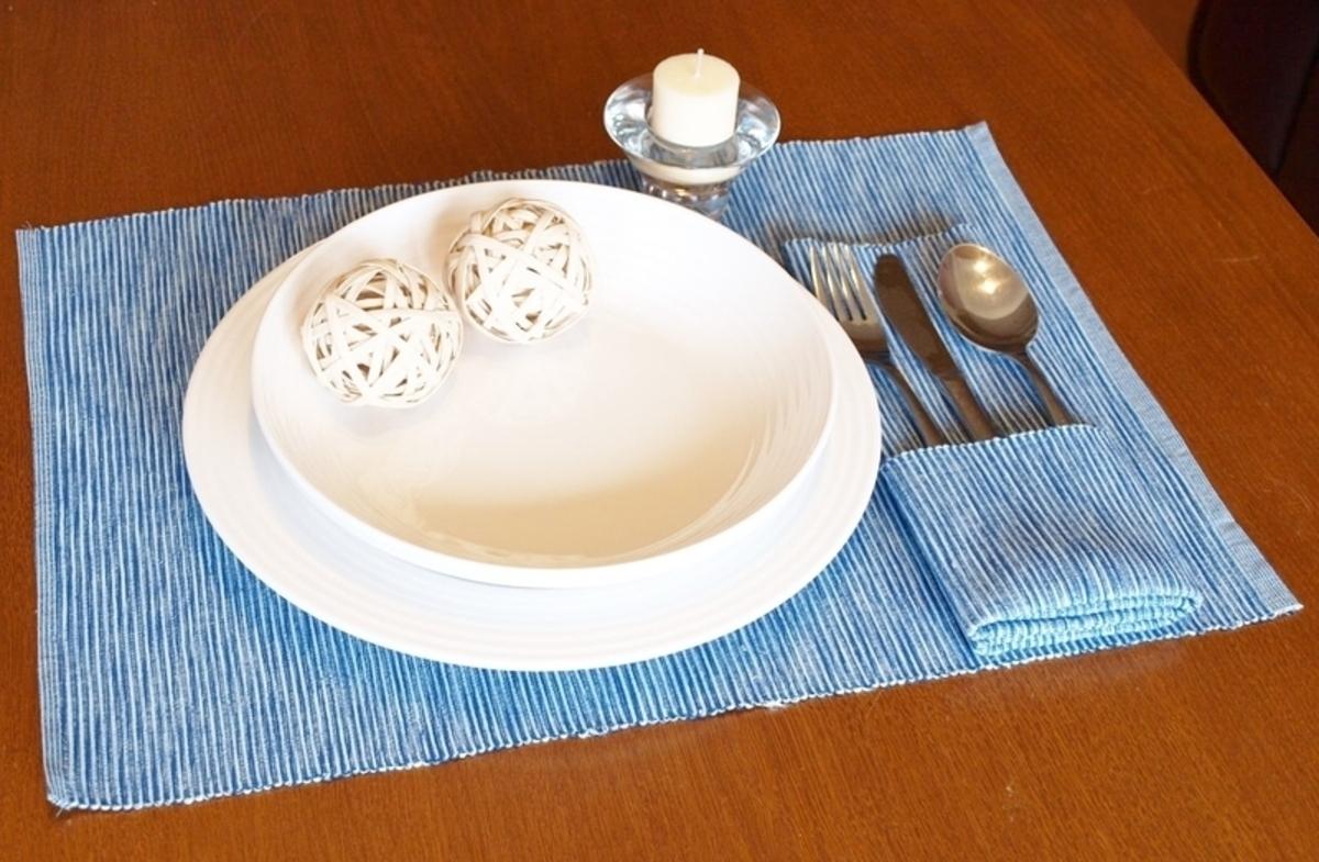 Forbyt Dekorační prostírání , Viktoria, 40 x 90 cm , Modrá 40 x 120 cm