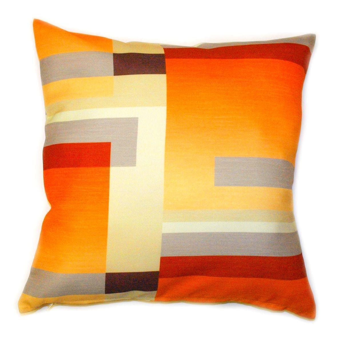 Forbyt, Návlek na polštář, OXY Stripes oranžovočervený, 45 x 45 cm