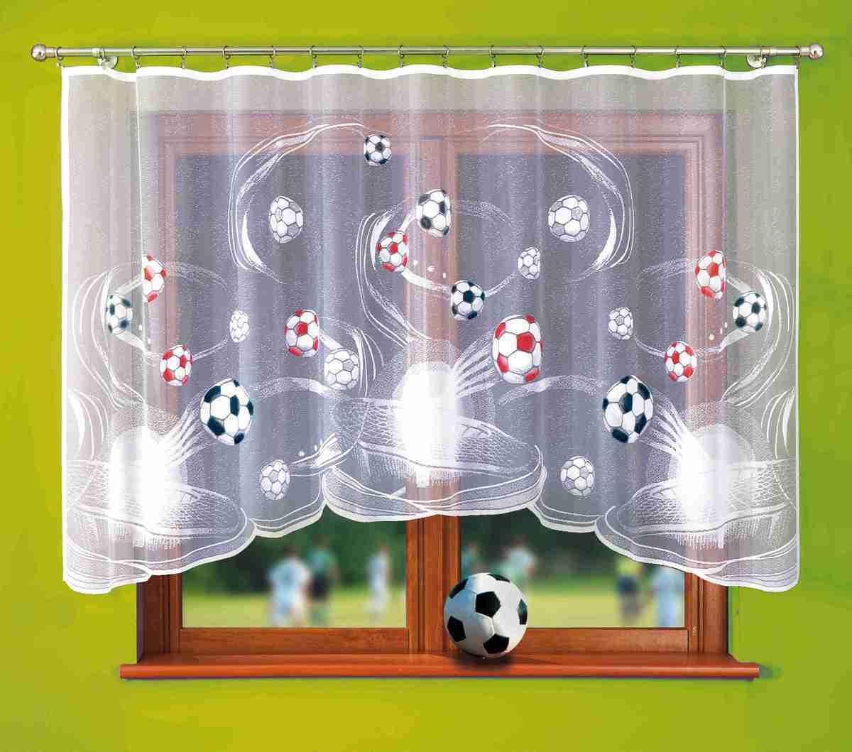 Forbyt, Fotbalová záclona, Viktor, 300 x 150 cm 300 x 150 cm barevná