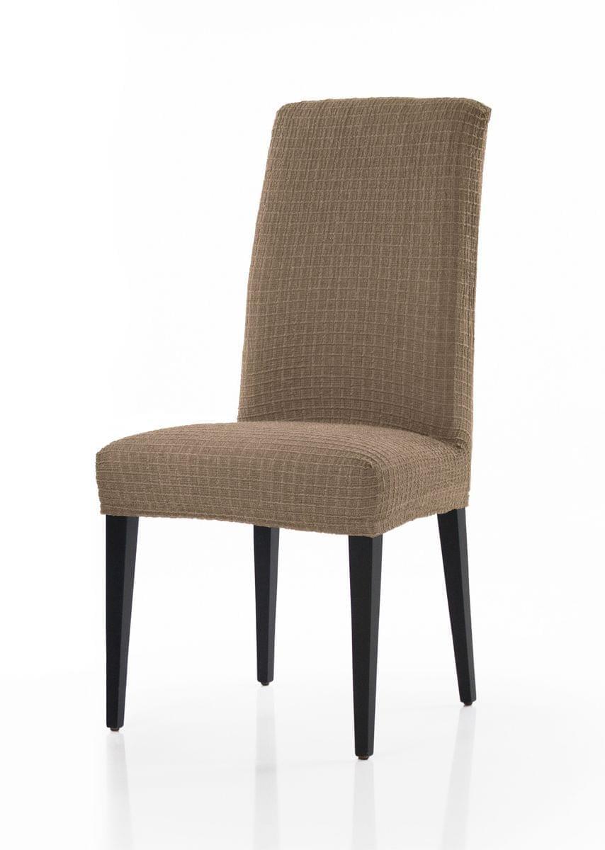 Forbyt, Potah multielastický na židle, Cagliari komplet 2 ks, béžový