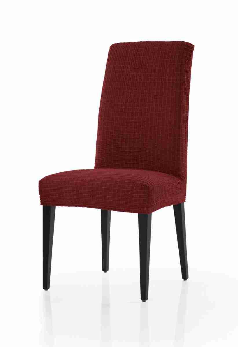 Forbyt, Potah multielastický na židle, Cagliari komplet 2 ks, bordový