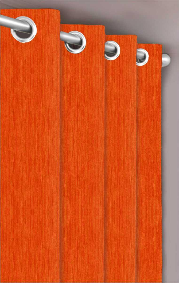 Forbyt, Dekorační látka nebo závěs, Blackout Žihaný, oranžový, 150 cm