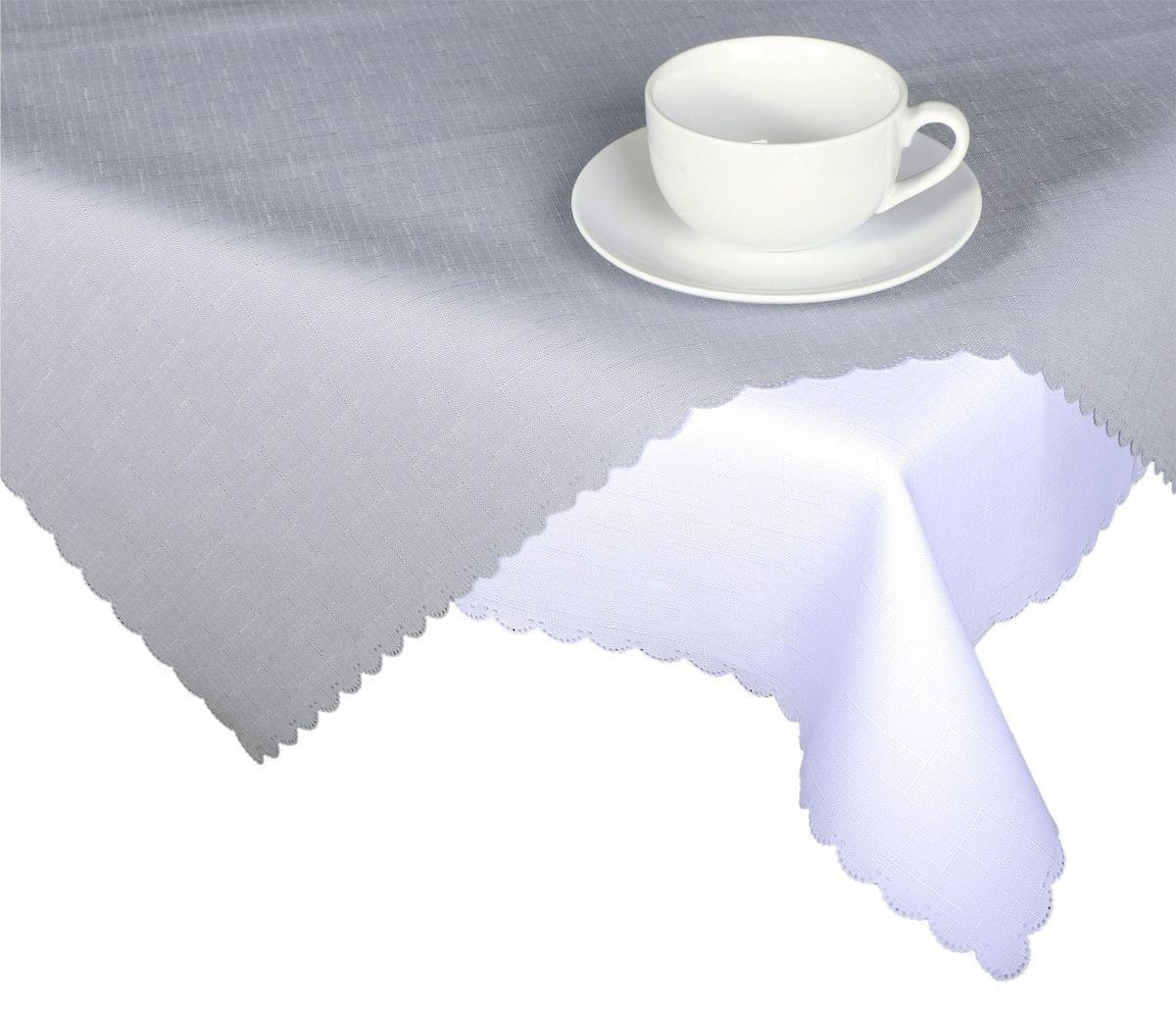 Forbyt, Ubrus s nešpinivou úpravou, Jednobarevný Deštík, šedý 160 x 220 cm