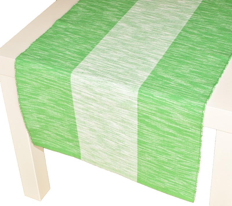 Forbyt , Prostírání bavlněné Amanda, Zelená 40 x 120 cm