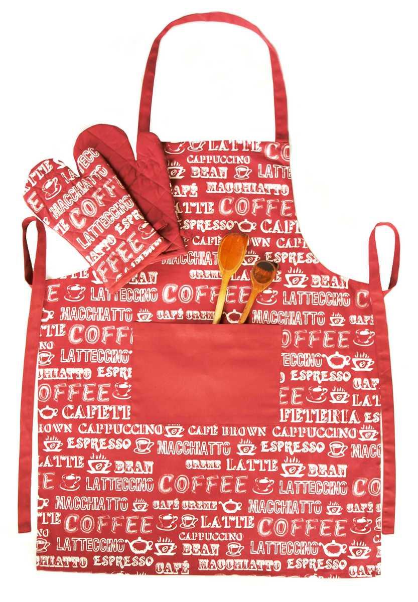 Forbyt, Zástěra kuchyňská, Coffee cihlová s kapsou