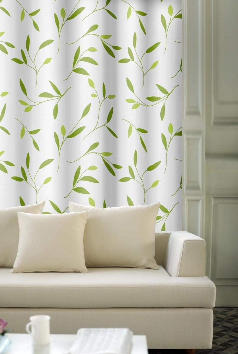 Forbyt, Závěs dekorační, OXY 28138 zelený, 150 cm