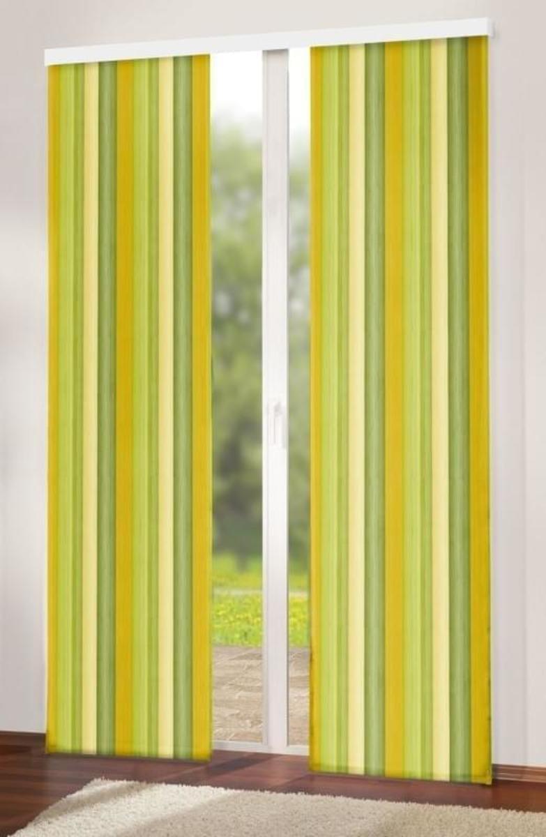 Forbyt,Závěs dekorační, Oxy Duha 150 cm, oranžovozelená