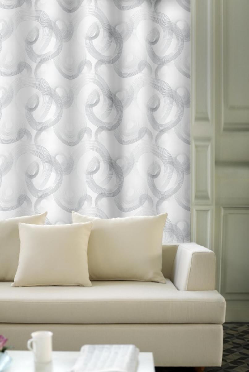 Forbyt, Závěs dekorační, OXY Kola, bílo-modré, 150 cm