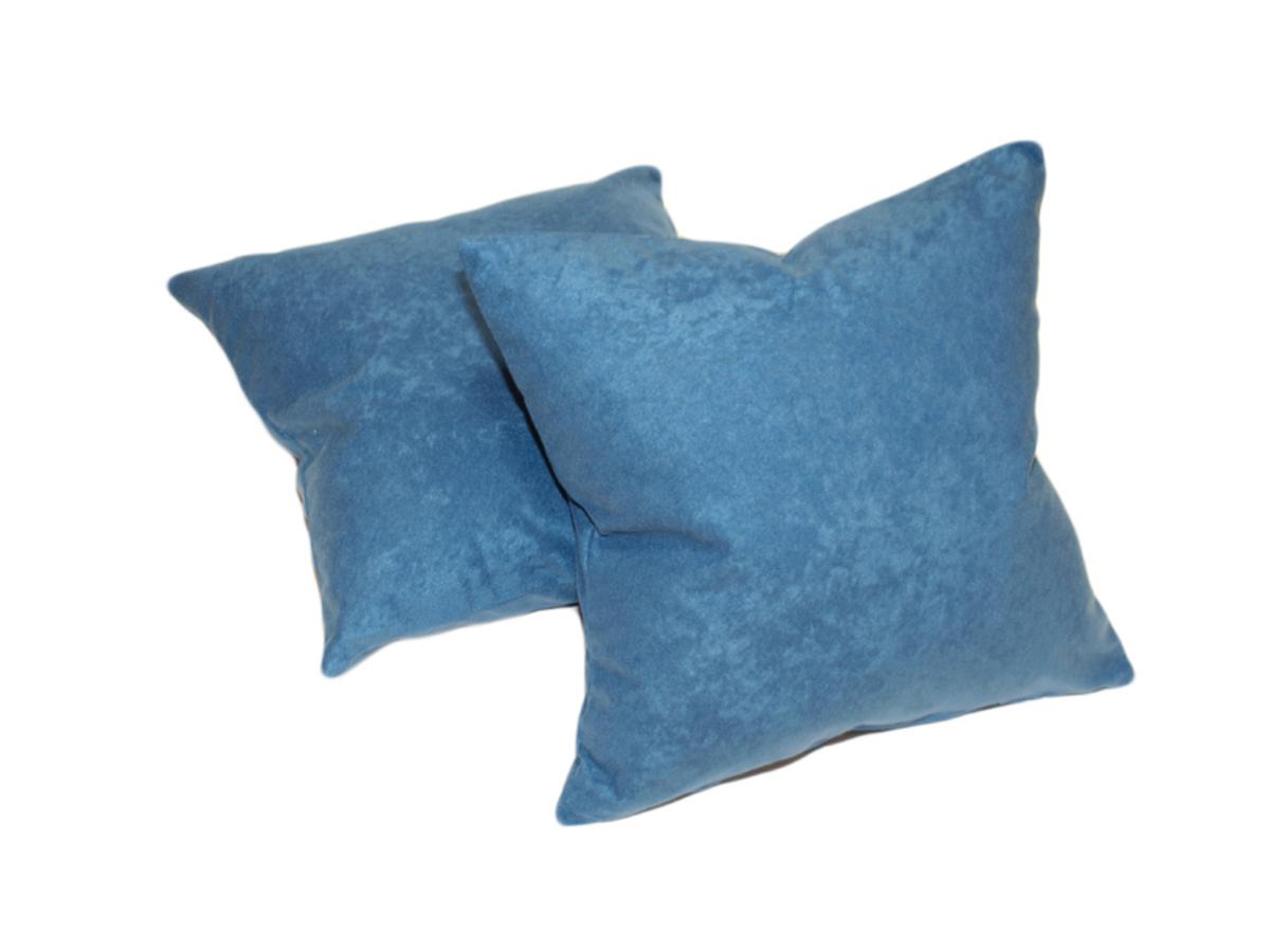 Forbyt, Návlek na polštář, Suedine sada 2 ks, modrá