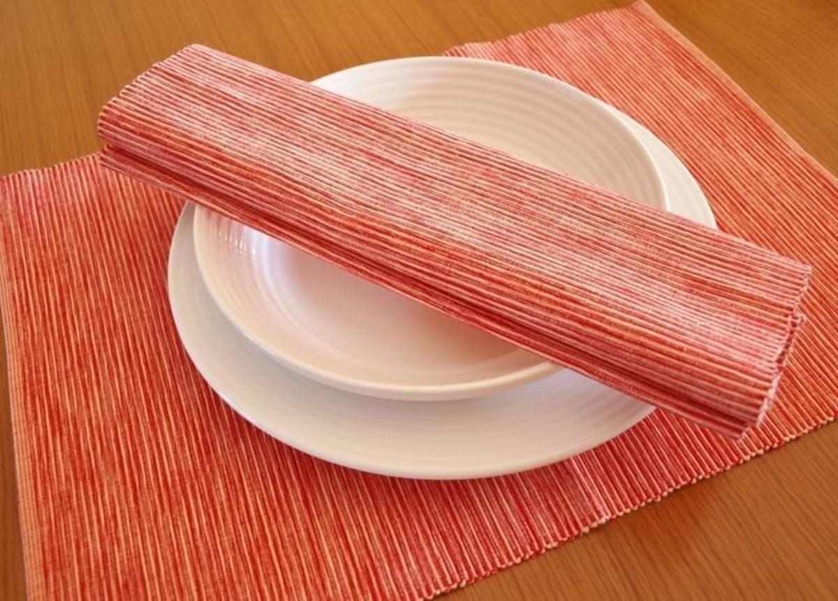 Forbyt Dekorační prostírání , Viktoria, 40 x 90 cm , červená 40 x 120 cm