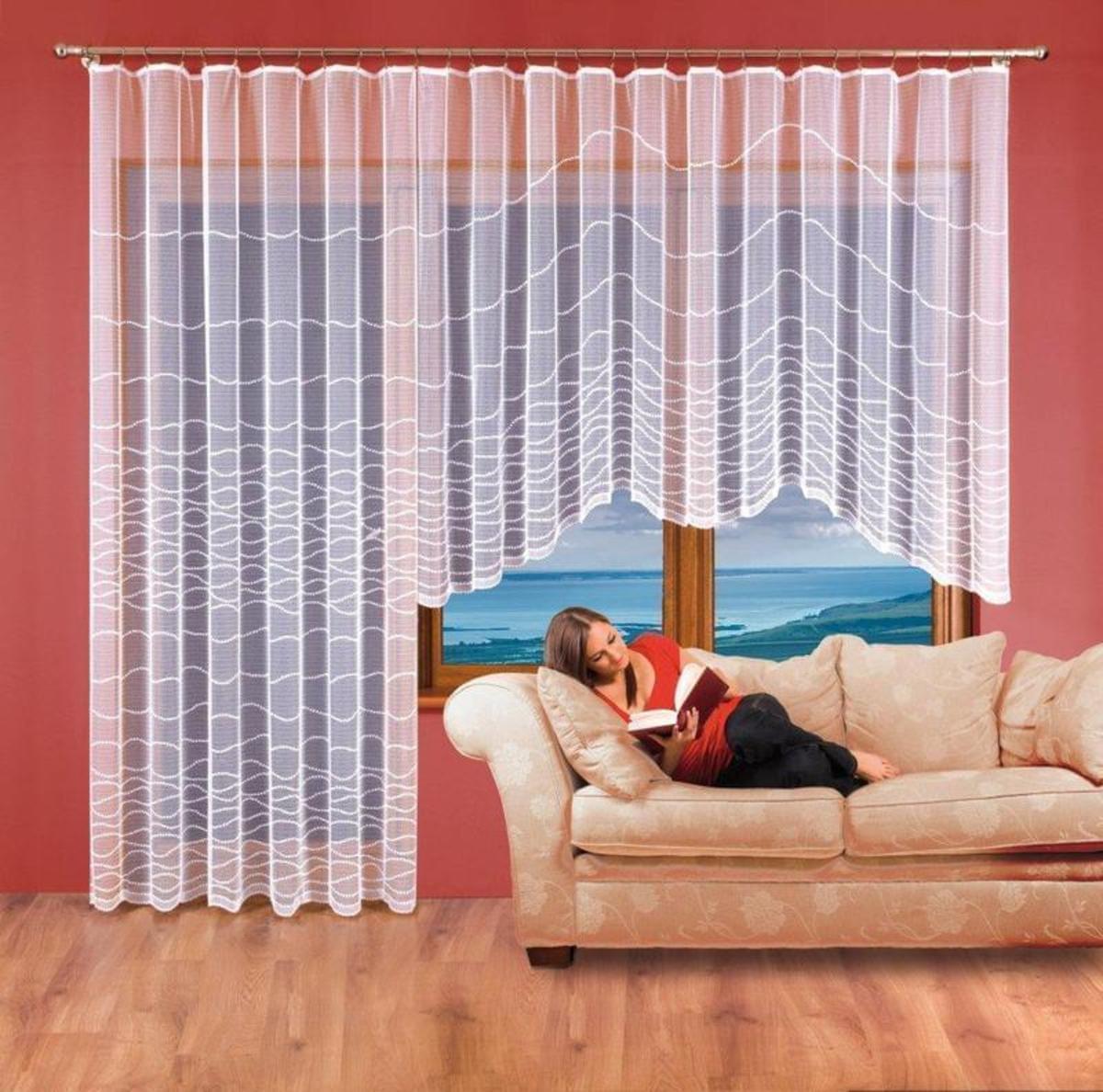 Forbyt Hotová záclona, Aneta 350 x 160 cm + 200 x 250 cm