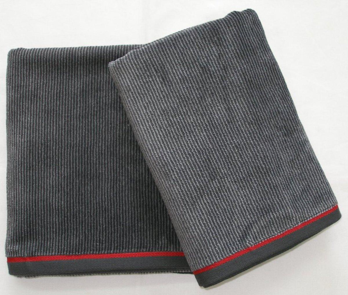 FORBYT, Ručník nebo osuška pánská, ADAM, šedý 50 x 100 cm