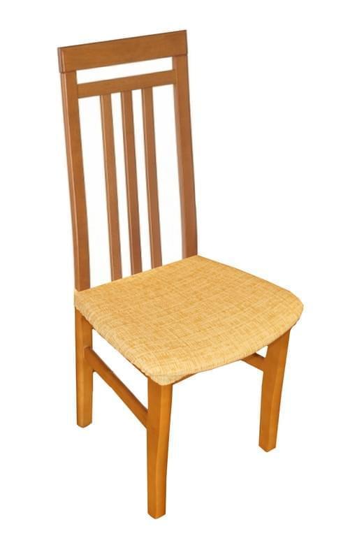 Forbyt, Potah elastický na sedák židle, Andrea žlutá komplet 2 szt.