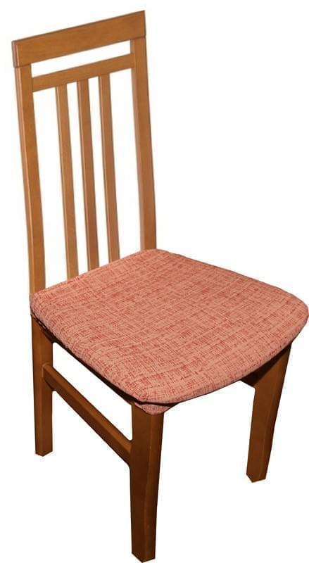 Forbyt, Potah elastický na sedák židle, Andrea cihlová komplet 2 ks