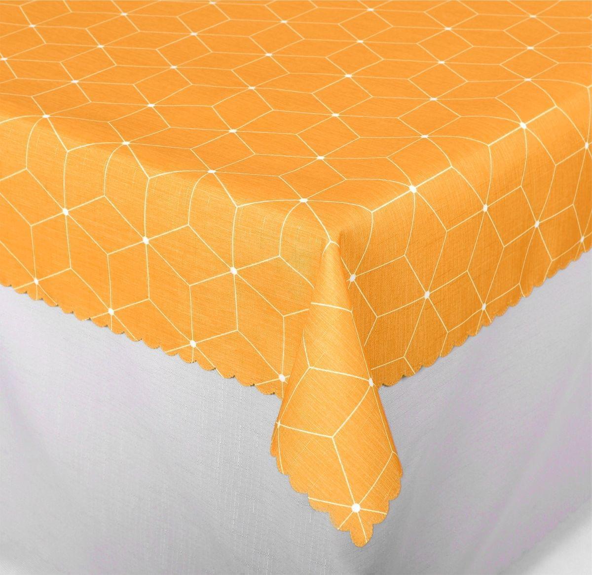 Forbyt, Ubrus s nešpinivou úpravou, Aneta, oranžový 140 x 180 cm