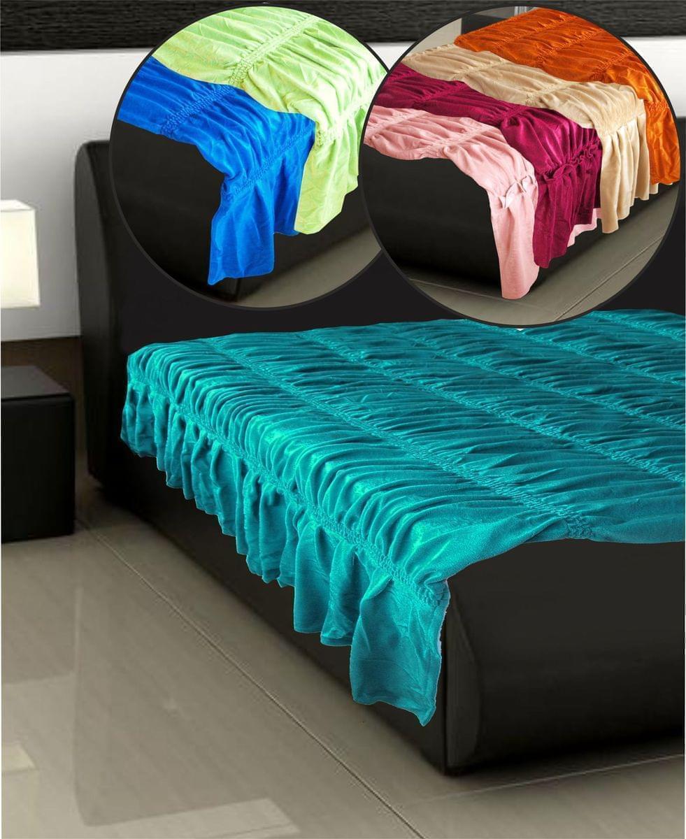 Forbyt, Přehoz na postel, Bonadea 2 dvojpostel - světle zelená