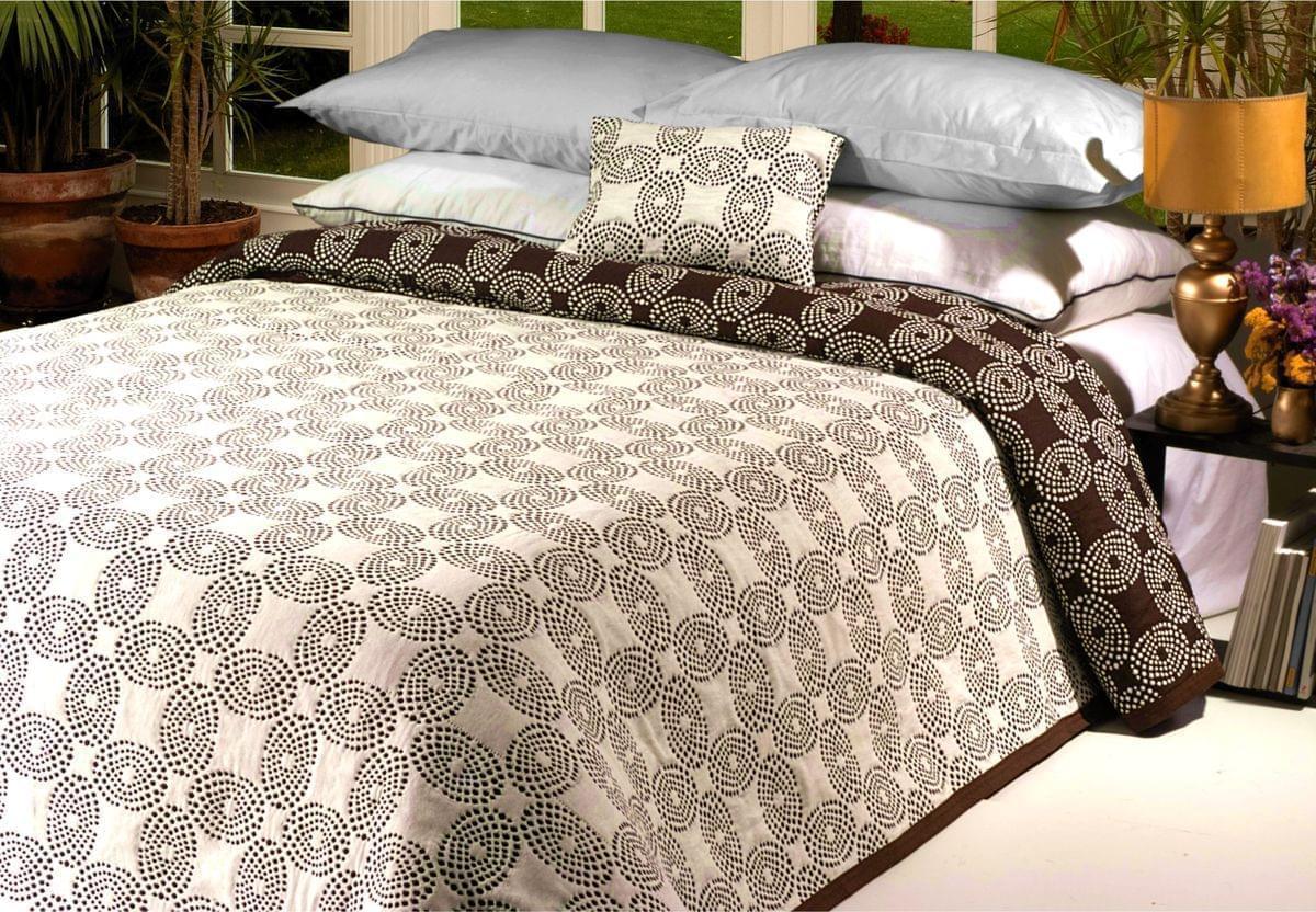 Forbyt, Přehoz na postel, Chita, hnědý 240 x 260 cm