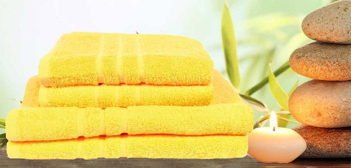 Forbyt, Ručník nebo osuška, Classic, žlutý 70 x 140 cm