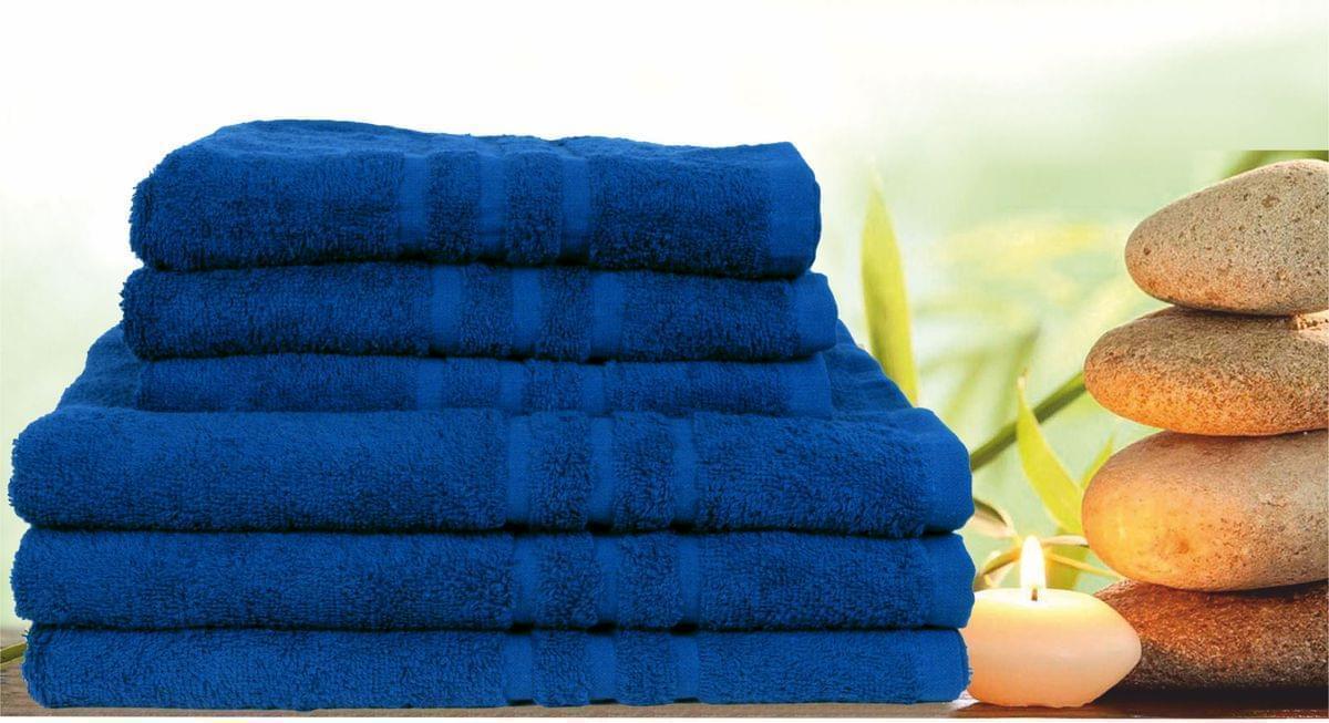 Forbyt, Ručník nebo osuška, Classic, modrá 70 x 140 cm