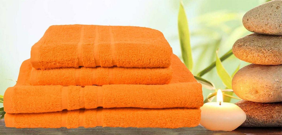 Forbyt, Ručník nebo osuška, Classic, oranžový 70 x 140 cm