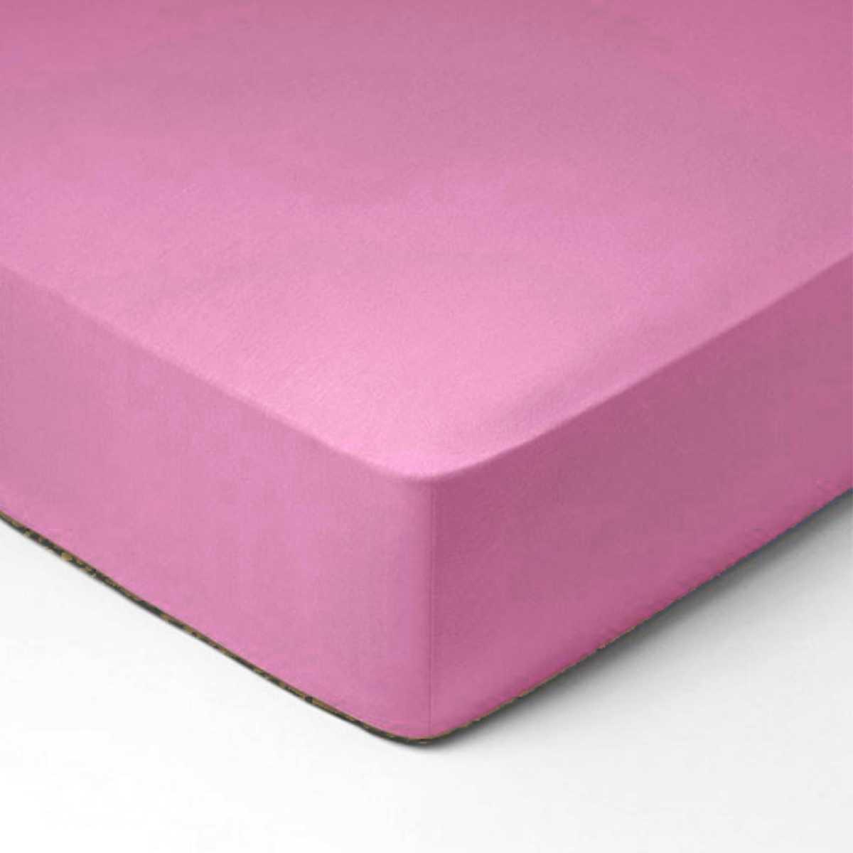 Forbyt, Prostěradlo, Jersey, světle fialová 180 x 200 cm