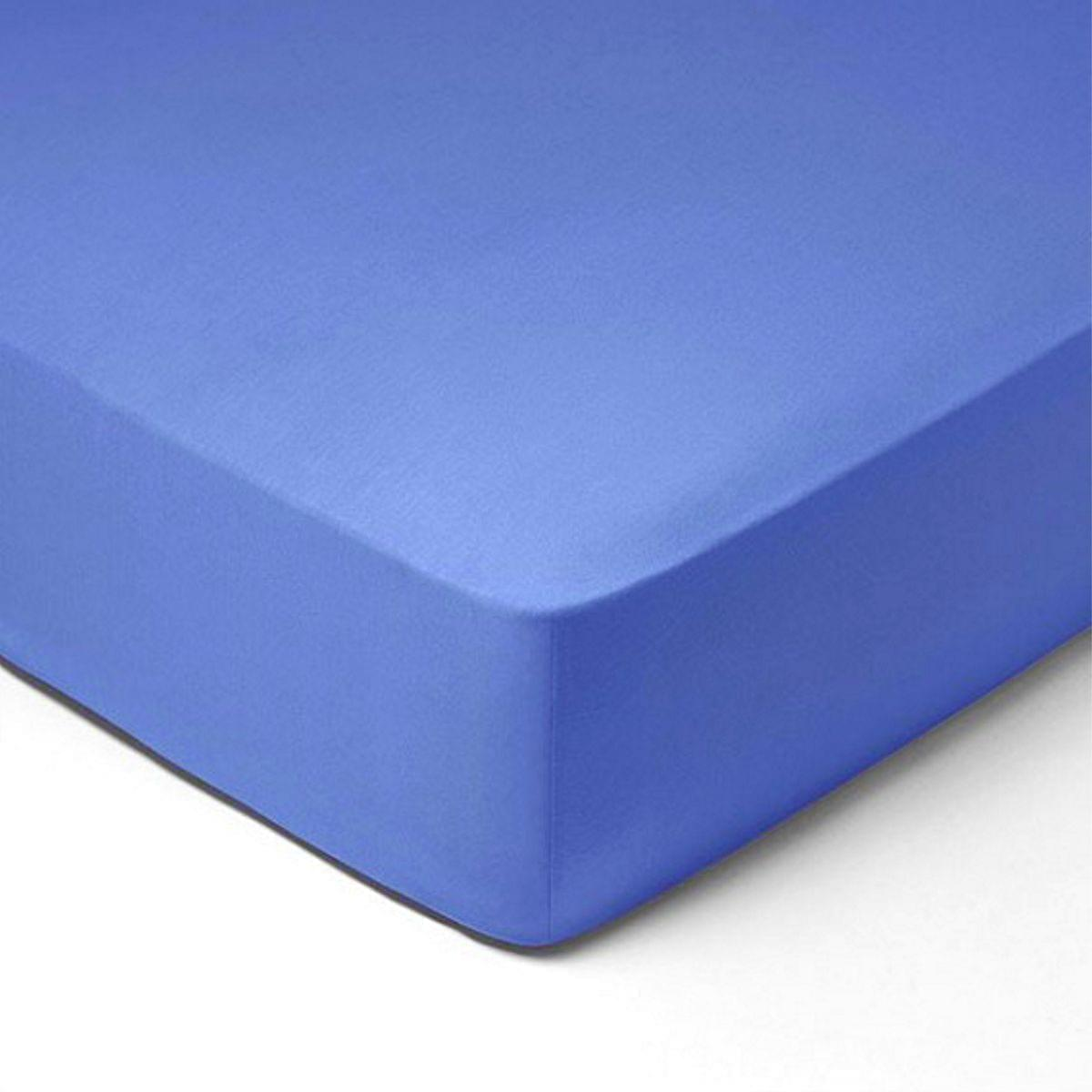 Forbyt, Prostěradlo, Jersey, světle modrá 160 x 200 cm