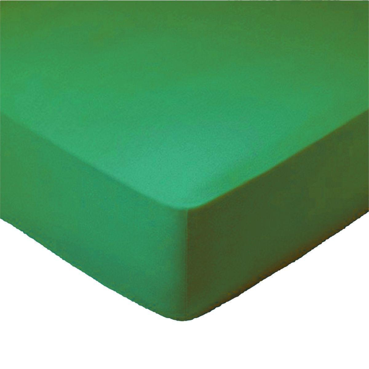 Forbyt, Prostěradlo, Jersey, olivová 180 x 200 cm