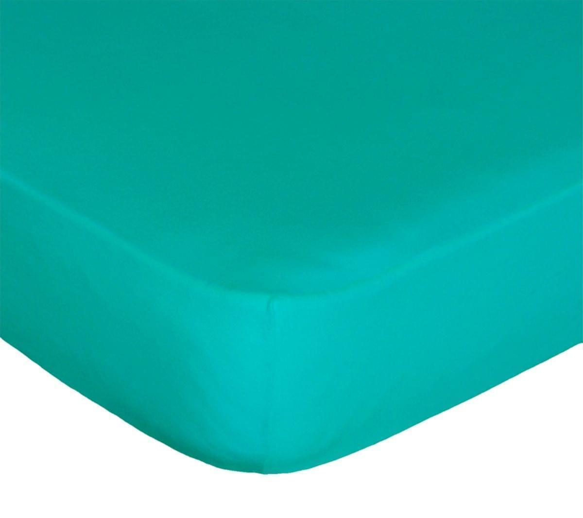 Forbyt, Prostěradlo, Jersey, zelený tyrkys 140 x 200 cm