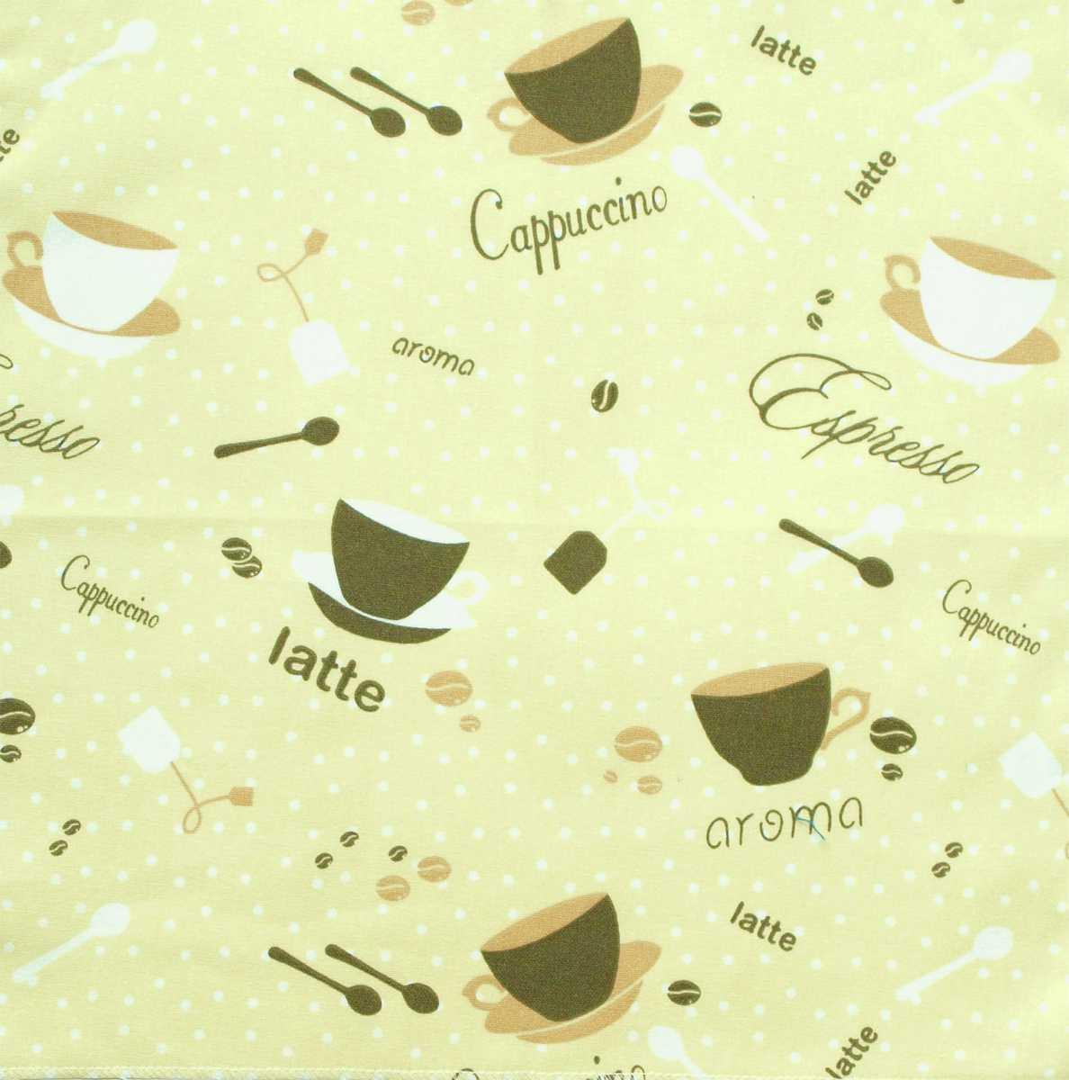 Forbyt, Látka bavlněná, Caffee 140 cm