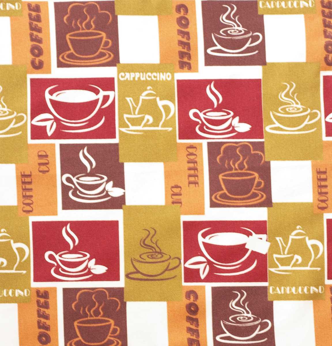 Forbyt, Látka bavlněná, Caffee bordo 140 cm