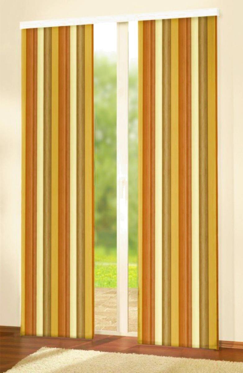 Forbyt, Závěs dekorační, Oxy Duha 150 cm, oranžovohnědá