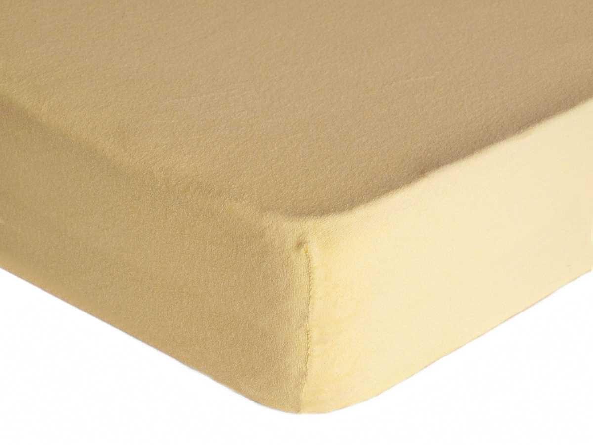 Forbyt, Prostěradlo, Froté Premium, capucino 90 x 200 cm
