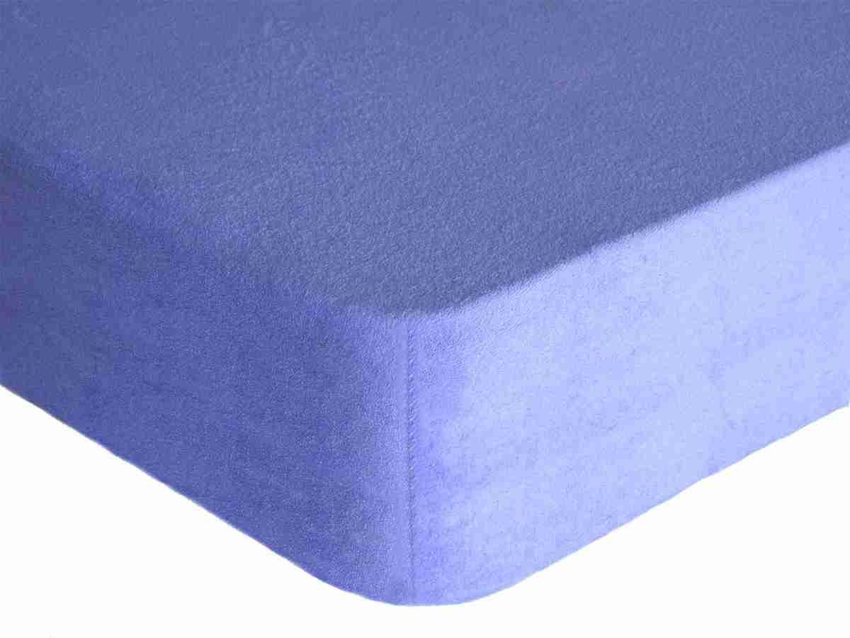 Forbyt, Prostěradlo, Froté Premium, světle modrá 160 x 200 cm