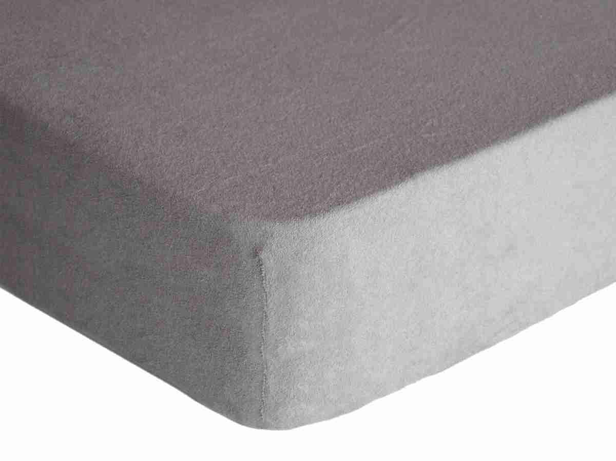 Forbyt, Prostěradlo, Froté Premium, šedá 90 x 200 cm