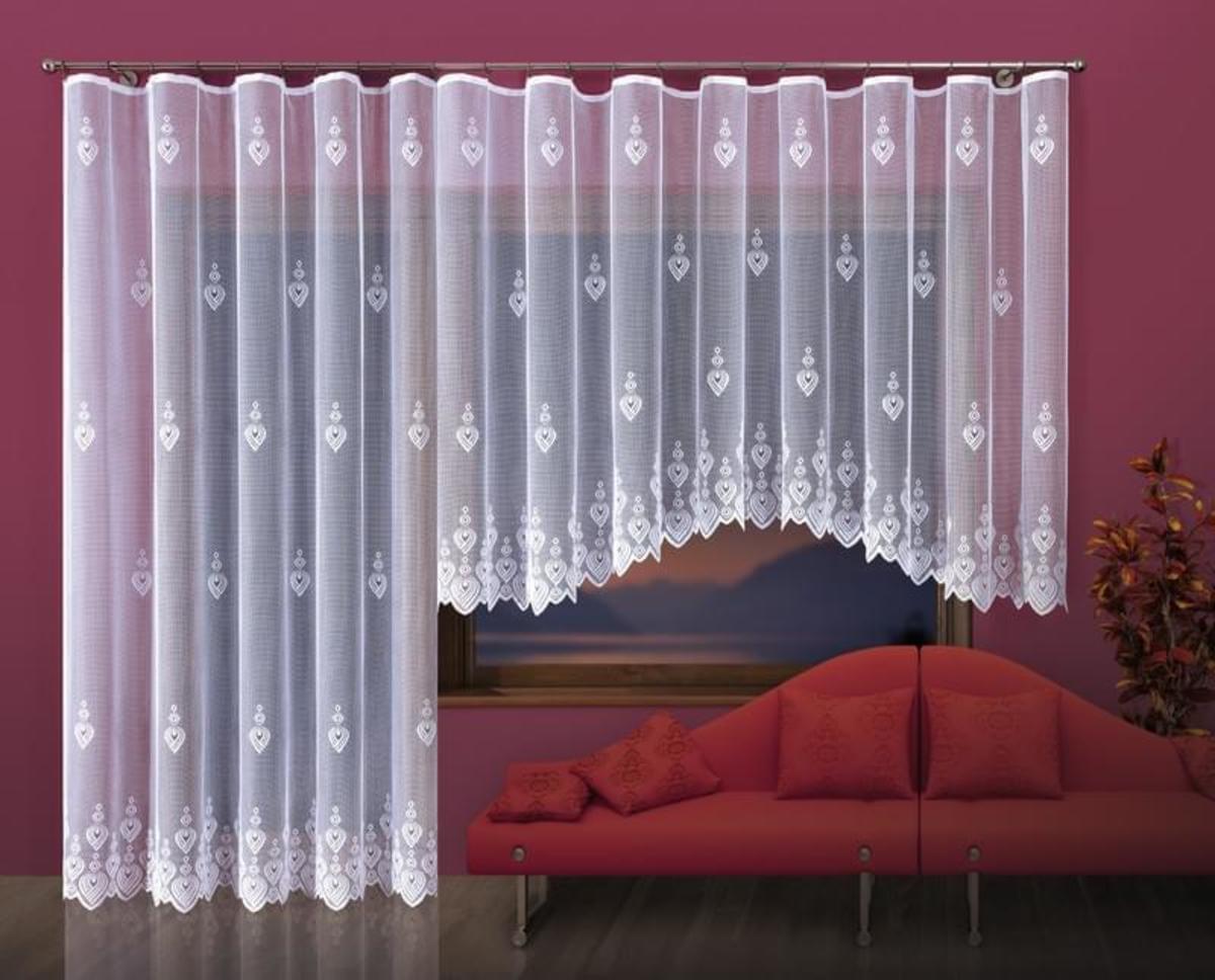 Forbyt, Hotová záclona nebo Balkonový komplet, Helga 200 x 250 cm