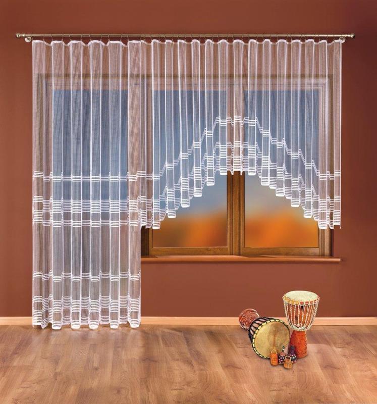 Forbyt Balkonová a hotová záclona, Ivona 380 x 180 cm