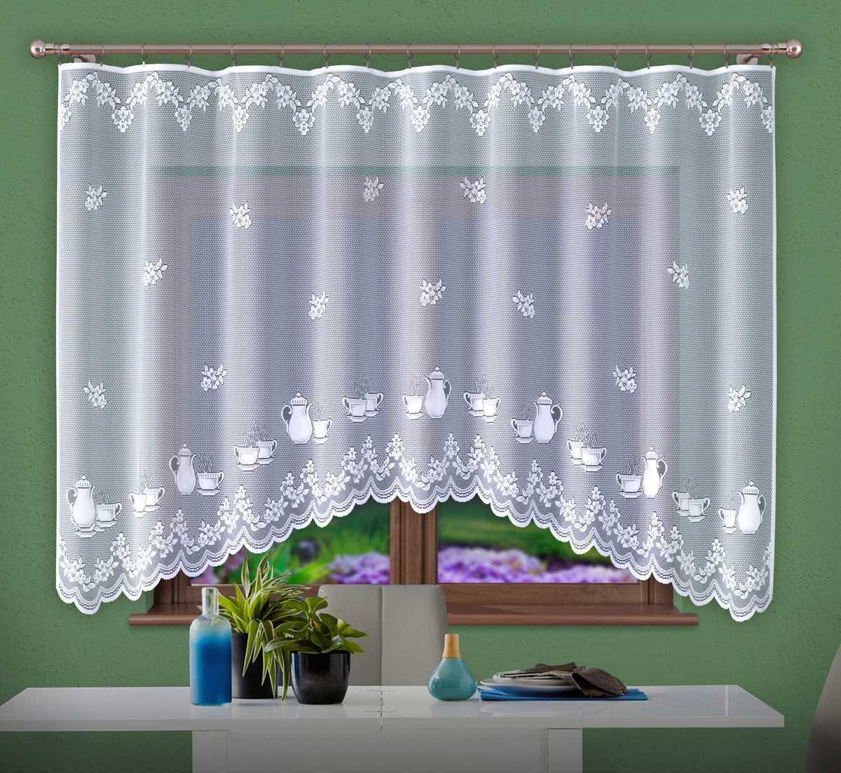 Forbyt, Hotová záclona, Linda, bílá 300 x 150 cm