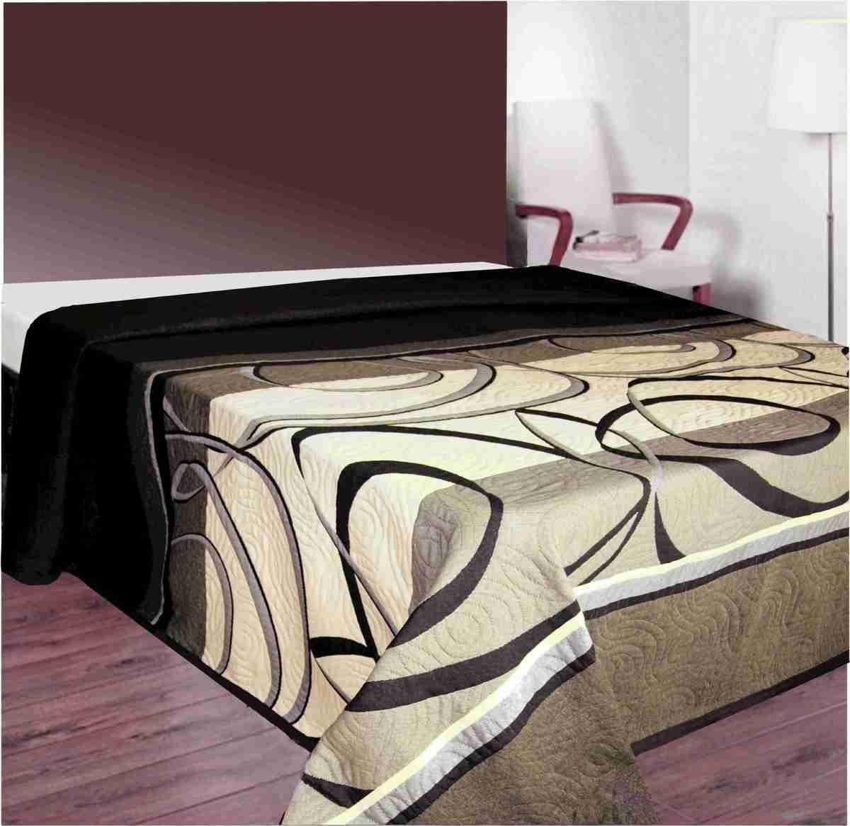 Forbyt Hnědy přehoz na postel 140 x 220 cm