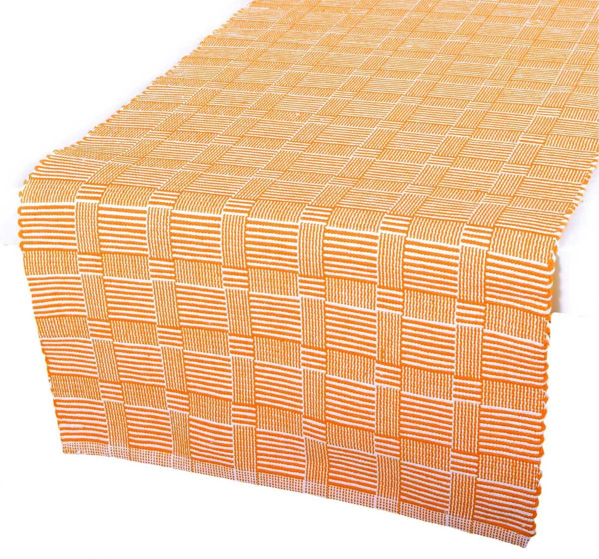 Forbyt, Prostírání bavlněné, Manchester, oranžový 40 x 120 cm