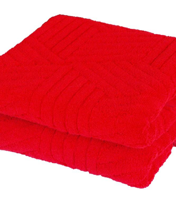 Forbyt , Ručník nebo osuška Argos, 50 x 100 cm, 70 x 140 cm červená 50 x 100 cm