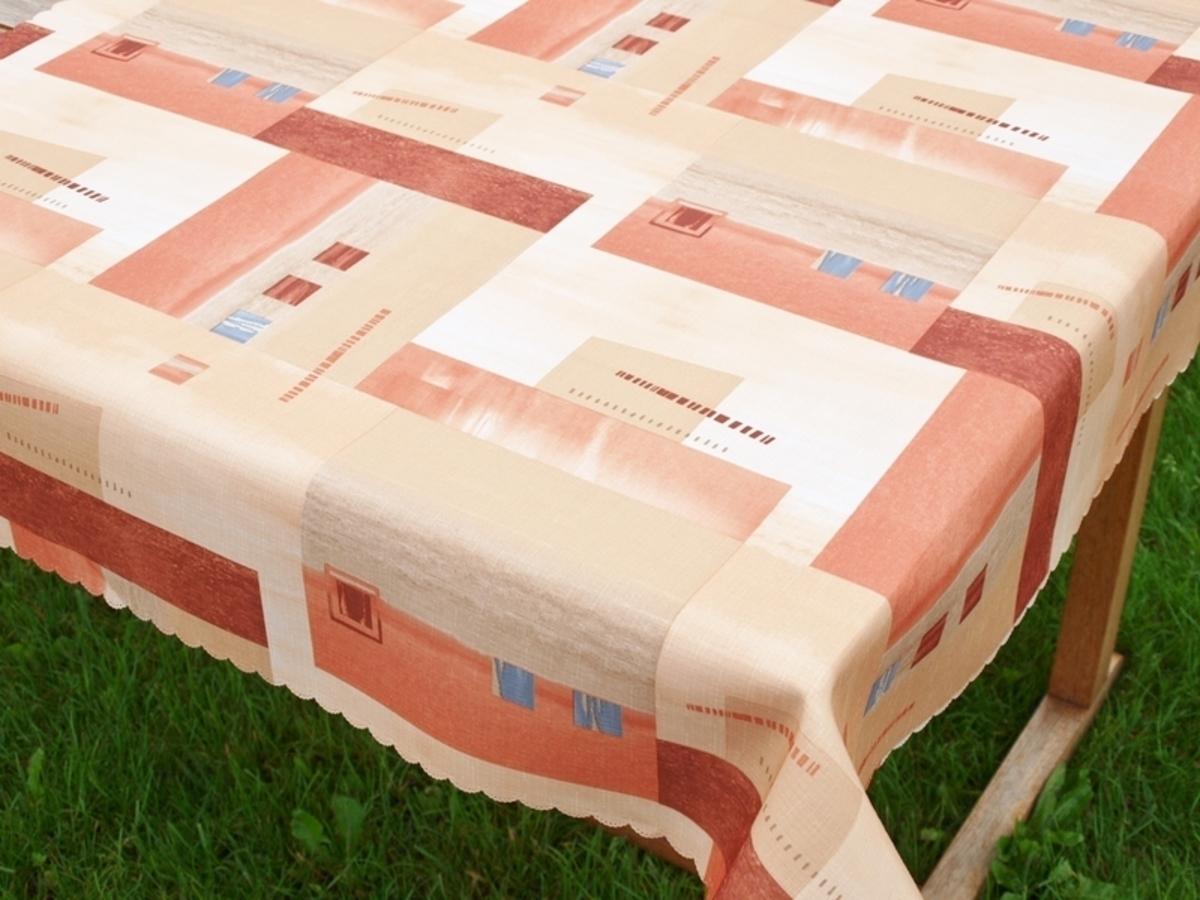 Forbyt Ubrus s nešpinivou úpravou, Hnědý 140 x 140 cm